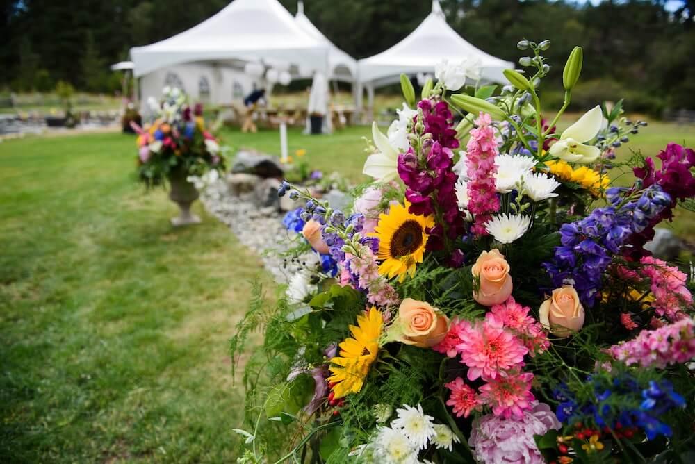 Czy namiot eventowy nadaje się tylko do organizowania przyjęć?